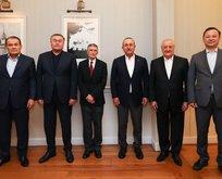 Aziz Sancar, Türk Konseyi'nin onur konuğu oldu