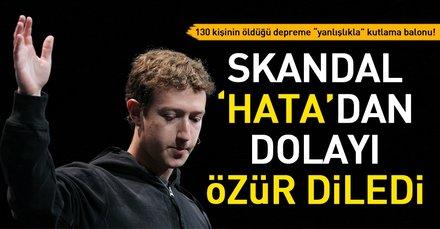 Facebook Endonezya depremi sonrası imza attığı skandaldan dolayı özür diledi!