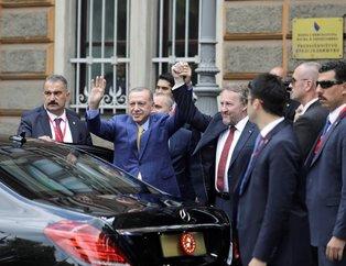 Cumhurbaşkanı Erdoğan, Bosna Hersek'te böyle karşılandı