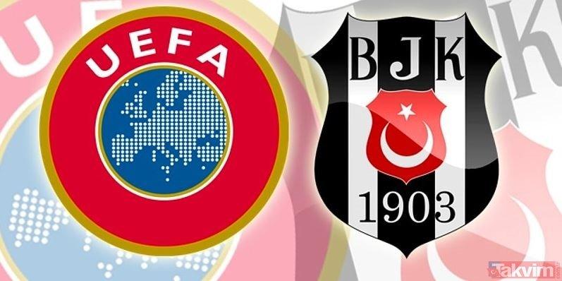 UEFA'dan Beşiktaş'a para yağdı! İşte Beşiktaş'ın kazandığı rakam...