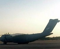Uçan Kale A400M Cumhurbaşkanı'ndan önce İran'da