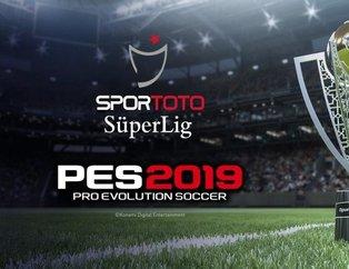 PES 2019'da Süper Lig yıldızlarının görüntüsü