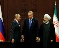 Üçlü Suriye Zirvesi sonrası ortak bildiri