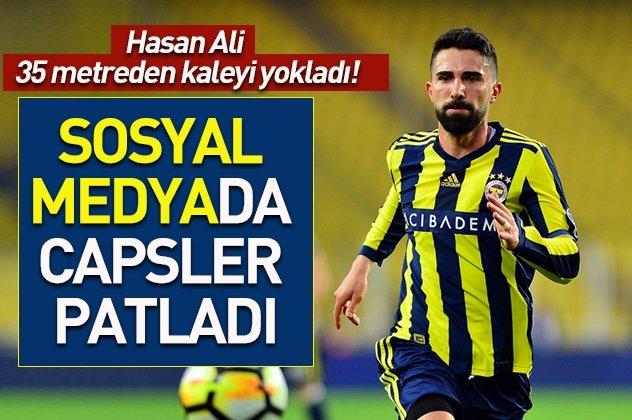Hasan Ali Kaldırım sosyal medyayı salladı!