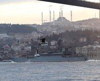Rus gemilerine füzeli saldırı alarmı