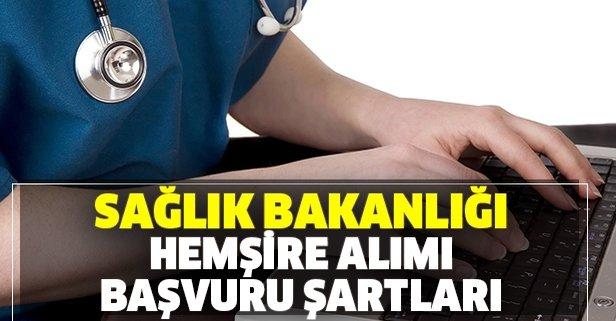 Sağlık Bakanlığı 3 bin 762 hemşire alımı yapacak!