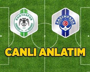 Konyaspor - Kasımpaşaspor | CANLI