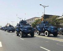 Türk zırhlıları Senegal'in Bağımsızlık Günü'nde
