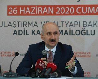 Ulaştırma ve Altyapı Bakanı Adil Karaismailoğlu Tokat'ta müjdeleri sıraladı!