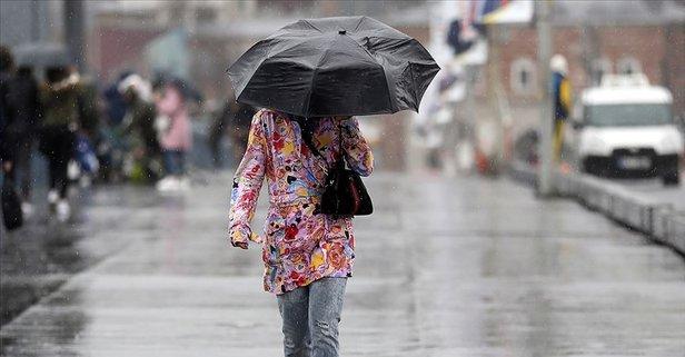 Meteoroloji'den sis ve sağanak yağış uyarısı!