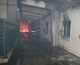 Adana'da hastane yangını!