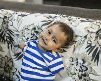 Muhammed bebek tetkikler için hastanede