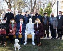CHP'li belediye Atatürk'ün köpeğinin heykelini dikti