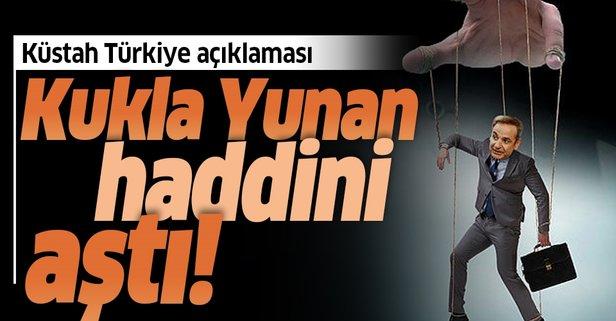 Miçotakis'ten küstah Türkiye açıklaması
