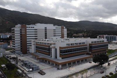 Türkiyenin 5. şehir hastanesi Manisa Şehir Hastanesinde sona doğru