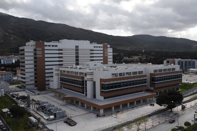 Türkiye'nin 5. şehir hastanesi Manisa Şehir Hastanesinde sona doğru