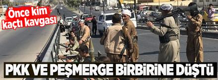 PKK ve Peşmerge'den önce kim kaçtı kavgası