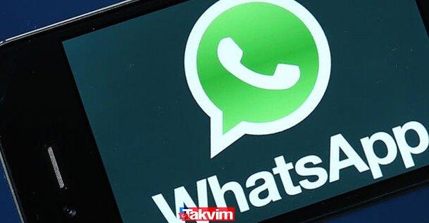 WhatsApp'ta o döneme girildi! Whatsapp'ta 1 hafta sonra artık yok...