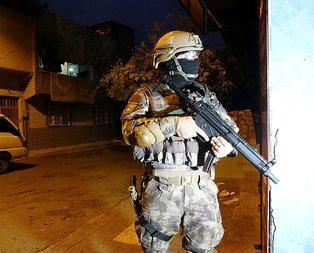 İstanbul'da uyuşturucu satıcılarına baskın!