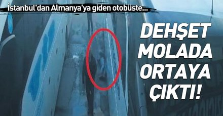 Dehşet! İstanbul-Almanya otobüsüne gizlice giren genç donarak öldü