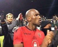 Drogba futbola böyle veda etti