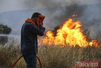 Yunanistanda yangın felaketi! Çok sayıda ölü var...