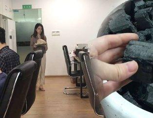 Çinli fenomenin ofiste yaptığı herkesi şoke etti