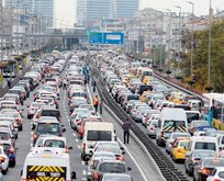 İstanbul trafiğinde son durum ne? İşte İstanbulda trafik yoğunluğu