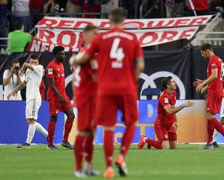 Bayern Münih Real'i 3 golle teslim aldı