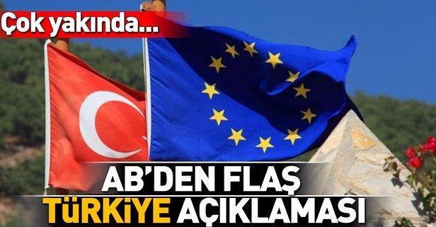 AB'den flaş vize açıklaması! Türkiye'nin...