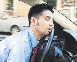 Trafik canavarı uyku apnesi