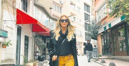İvana Sert, İstanbul aşkını yine gözler önüne serdi