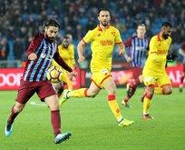 Trabzonda puanlar bölüşüldü