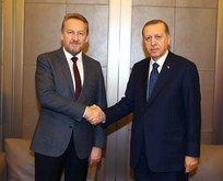 Cumhurbaşkanı Erdoğan, İzzetbegoviç'i kabul etti