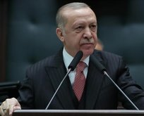 Başkan Erdoğan şehit ailesi ile görüştü