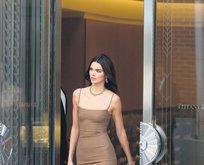Kendall bizden giydi