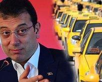 Taksicilerden, İBB'nin yeni taksi yönetim sistemine tepki