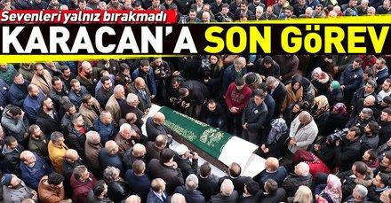 Silahlı saldırıda hayatını kaybeden Abdullah Karacan son yolculuğuna uğurlandı