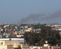 Darbeci Hafter'in 2 yakıt tankerine hava harekatı