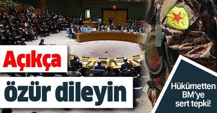 AK Parti Sözcüsü Ömer Çelik: BM'nin açıkça özür dilemesi gerekir