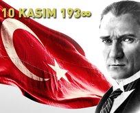Atatürk'ü Anma Günü'ne özel anlamlı sözler