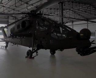 Yeni Atak helikopteri J-1921 GAZİ'nin ilk görüntüleri