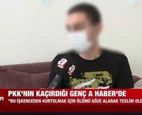 PKK'nın iğrenç yüzünü A Haber'de anlattı!