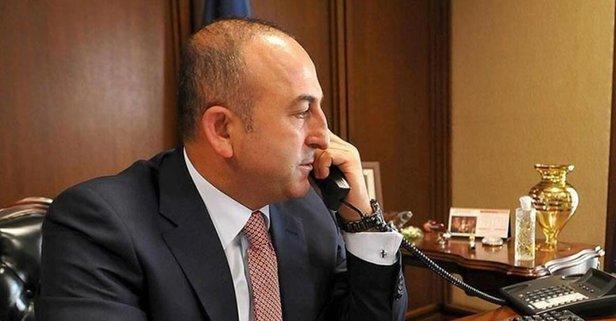Bakan Çavuşoğlu'ndan kritik temas!