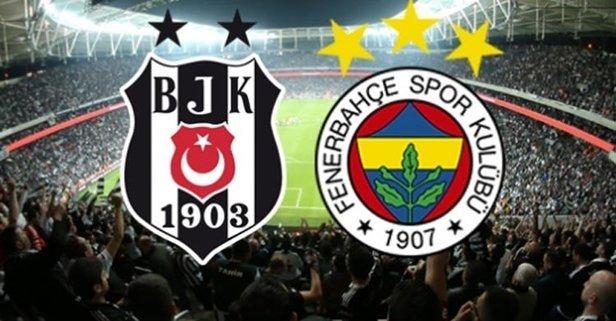 Beşiktaş - Fenerbahçe derbisinde 11'ler