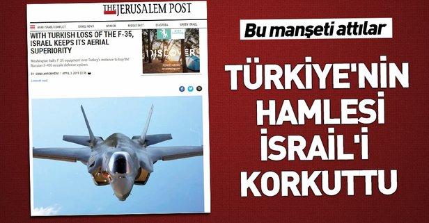 F-35'ler İsrail'i panikletti