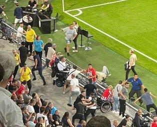 Galatasaraylı futbolculara PSV taraftarından çirkin saldırı!