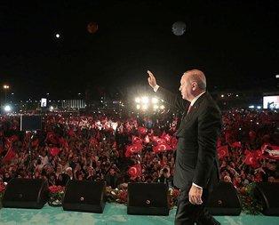 Başkan Erdoğan'dan 15 Temmuz paylaşımı