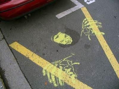 Sokakları böyle renklendirdiler