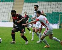 Karagümrü ve Antalyaspor maçında gol düellosu